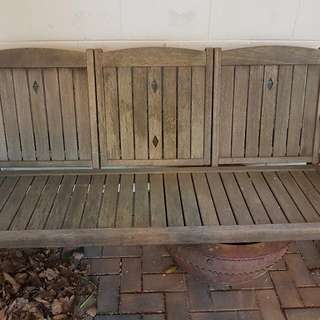 Solid Wood 'LOVE SEAT'