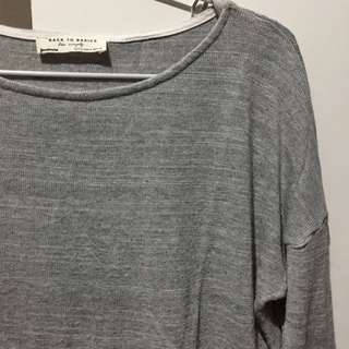Stradivarius Back To Basic Longsleeves Top