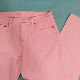 Levi's Millenial Pink Jeans