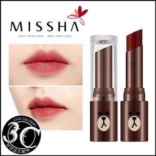 Missha熊大乾燥玫瑰唇膏