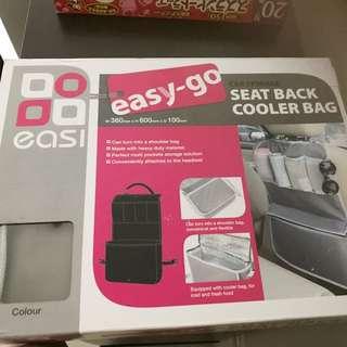 BNIB Seat Back Storage With Cooler Bag