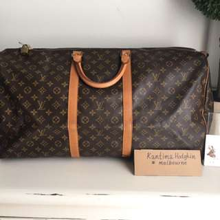 Authentic Pre-owned Louis Vuitton Keepall 60
