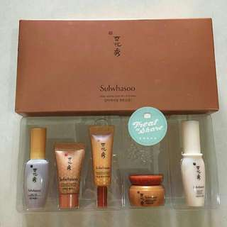 Sulwhasoo Anti-Aging Care Kit (isi 5 items)
