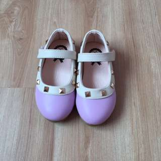 Valentino Purple Toddler Shoes