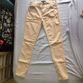 Forever 21 Nude Jeans/Pants
