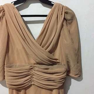 Nude Formal Dress