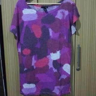 Purple Artsy Tshirt