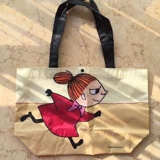 全新日本雜誌附送 姆明 Moomin 阿美 Little My 防水環保袋