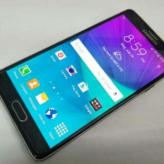 Samsung Galaxy Note 4 32gb N910c Black