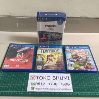 BD PS4 Family Pack