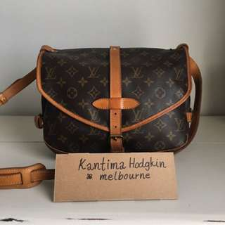 Authentic Pre-owned Louis Vuitton Saumur MM