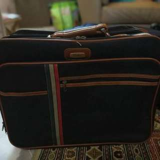 Vintage Overnight Luggage
