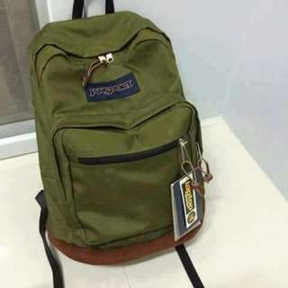 Jansport Right Pack (leather Bottom)