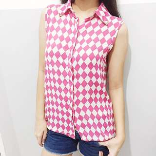 Pink&White Blouse