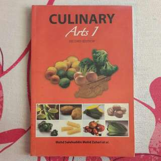 Culinary Arts 1 Second Edition