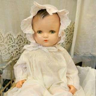 古董大型嬰兒娃