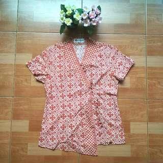 Batik Keris Blouse Lengan Pendek