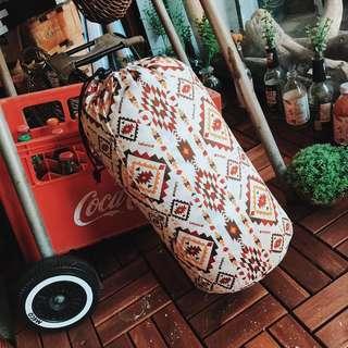 🇺🇸 可全開式多用途民族圖騰休閒睡袋 美式民族風 露營野餐 學生被 旅行必備
