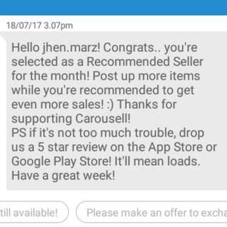 RECOMMENDED SELLER 💖