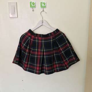 Forever 21 Checkered Skirt