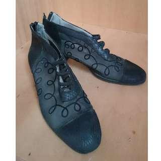 鏤空透膚雕花鞋 39號 古著 Vintage 二手