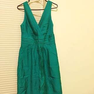 Now Green Dress