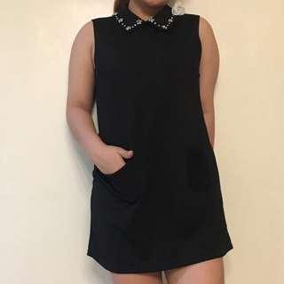 Korean Inspired Collared Dress