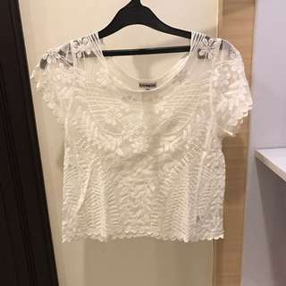 White Transparent Shirt Express US