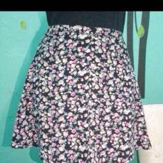 Flowers Skirt h&m New