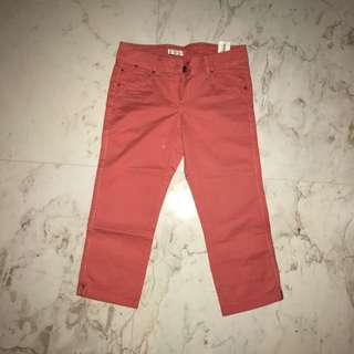 PROMOD Peach 3/4 Pants