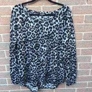 Leopard Print Thin Long Sleeve