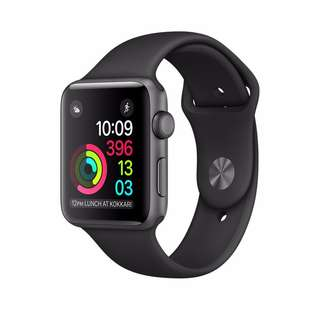 Apple Watch Series 2 - Space Black Stainless Steel Case with Black Sport Band