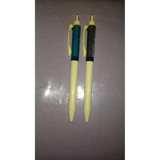 100% 全新 Uni Jetstream Colour 0.5 流暢藍色及黑色原子筆