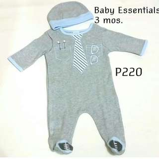 Baby Essentials Overall Set