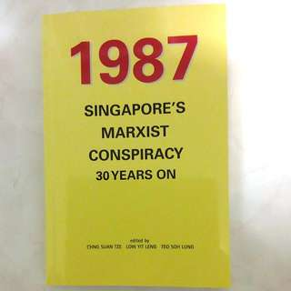 🚚 1987 - Singapore Marxist Conspiracy 30 Years On