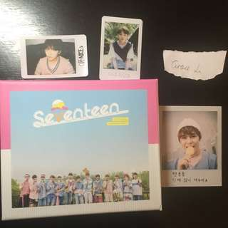 Seventeen Love&Letter Repackage Album W/ Pc And Poster