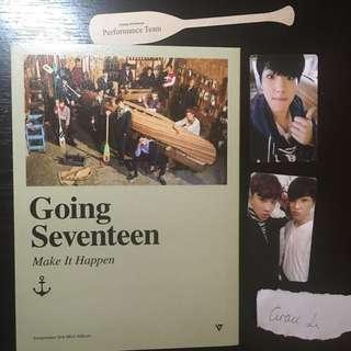 Seventeen GOONG SVT Make It Happen Album W/ Pc