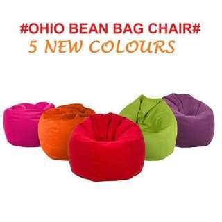 Free Postage - PAMICA OHIO Large Bean Bag (baldu) Chair 2.5kg