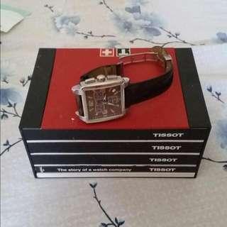 Tissot Quadrato Chronograph Complete Set