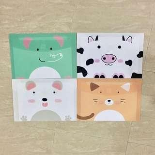 Animal Pocket Files