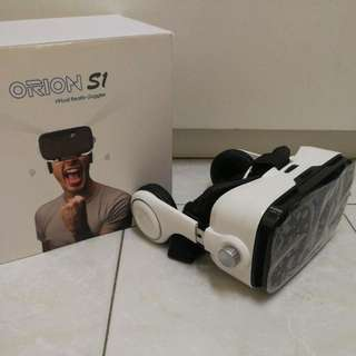 Orion S1 VR Goggle with built-in Stereo Headset