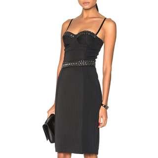 Sass & Bide - Modern Delirium Fitted Tailored Dress - Black - Size 8 - BNWT - RRP $790