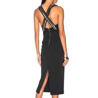 Sass & Bide - Atomic Twist Dress - Black - Size 8 - BNWT - RRP $520