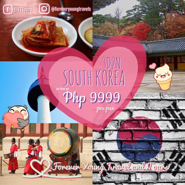 3D2N South Korea Free And Easy Package