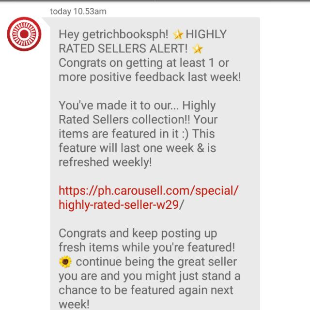 3rd Time!! 😊 Thank You Carousell!!