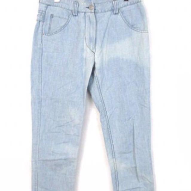 法國品牌 Isabel marant etoile 水藍色 丹寧褲