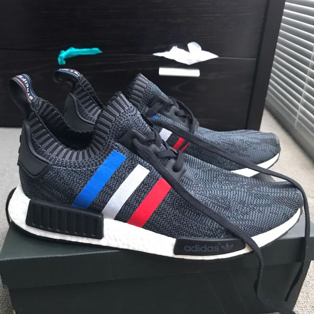 Adidas NMD R1 PK Tri Color Size US 10.5