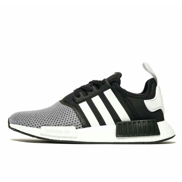 the latest 4d04c e7a86 Adidas NMD Runner R1 Black/White/Grey