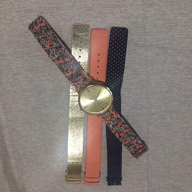Aldo Wristwatch With Straps
