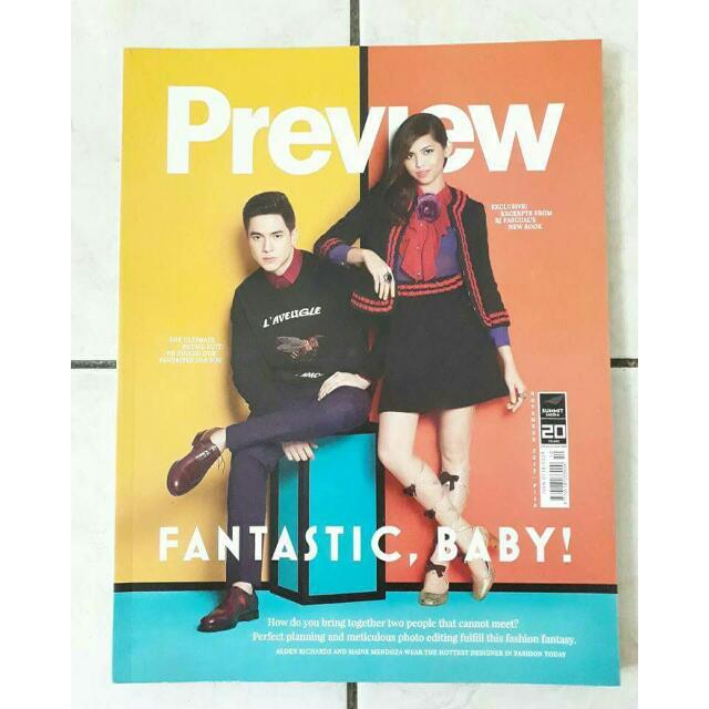 AlDub Preview Magazine